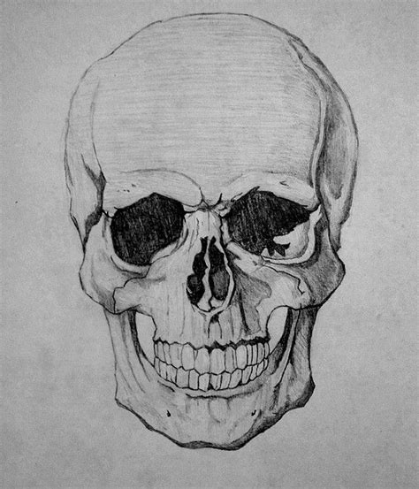 pictures awesome drawings of skulls drawing art gallery