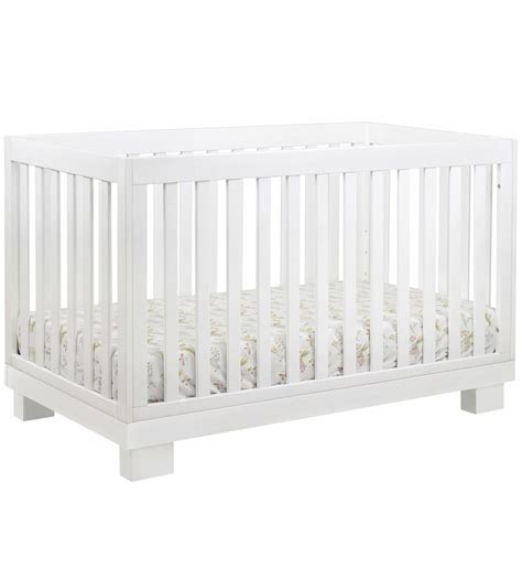 Crib White Convertible Babyletto Modo 3 In 1 Convertible Crib With Toddler Bed Conversion Kit In White Finish