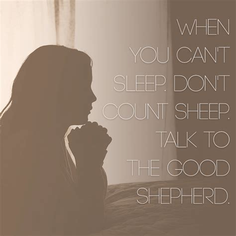 Cant Sleep when you can t sleep don t count sheep talk to the