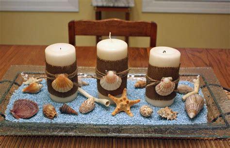 candele con conchiglie centrotavola a tema marino foto 9 39 matrimonio pourfemme