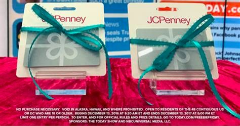 Today S Take Giveaway - today s take freebie tuesday win 500 jcpenn giveawayus com