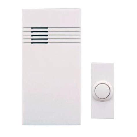 Battery Operated Wireless Doorbell - heath zenith wireless battery operated door chime kit