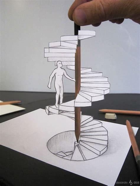tutorial gambar tangan 3d italian artist brings his 3d drawings to life by making