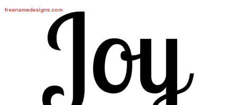 joy tattoo font joy archives free name designs