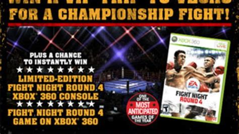Pizza Hut Xbox Sweepstakes - win real boxing from fight night 4 and pizza hut
