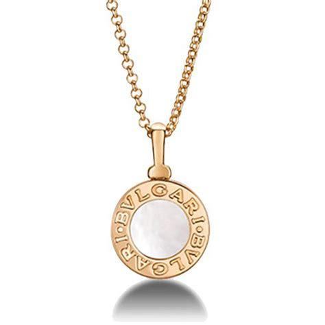 bulgari jewelry bvlgari bvlgari 18k gold pendant
