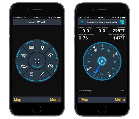 motionx gps  iphone overview motionx