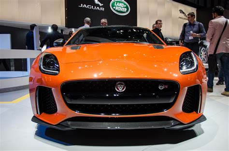 jaguar front 2017 jaguar f type svr first look review 2016 geneva