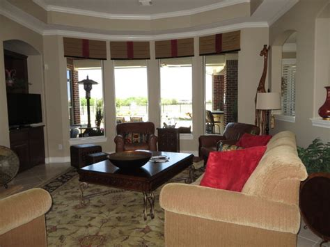 traditional window treatments living room window treatments traditional living room houston by rooms by roxanne