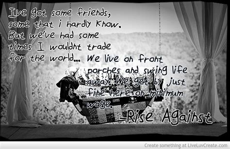rise against swing away survive rise against quotes quotesgram
