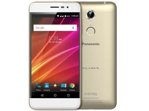 panasonic mobile india panasonic eluga arc with volte support and fingerprint