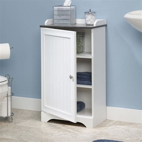 floor cabinets for bathrooms sauder caraway floor cabinet 414032