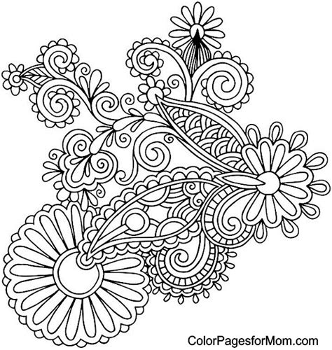 free paisley coloring pages free coloring pages of paisley pattern