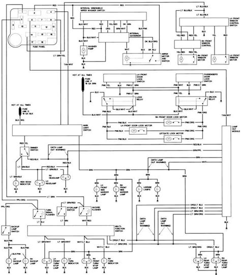 wiring diagram 1998 jeep 97 jeep wiring