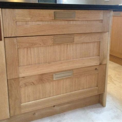 Oak Kitchen Doors And Drawer Fronts by Bespoke Size Solid Oak Drawer Fronts Shaker Doors