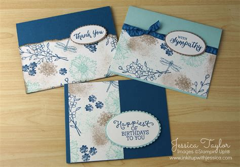card kits for beginners layering ovals framelits ink it up with card