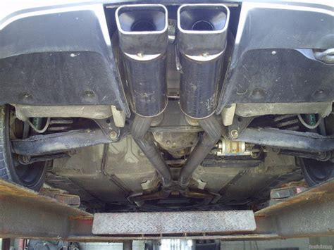 Chrysler Crossfire Exhaust by Going A With My Exhaust Crossfireforum