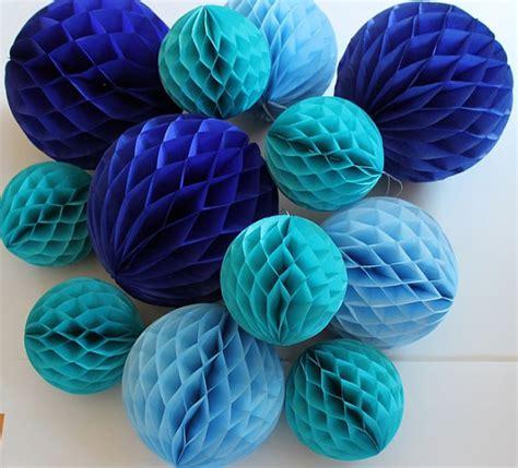 How To Make Decorative Paper Balls - 5pcs lot 6 quot 15cm decorative tissue paper honeycomb balls