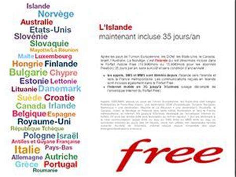 Lettre De Reclamation Free Hors Forfait Free Va Facturer Le Hors Forfait Data 224 Partir Du 1er Ao 251 T 224 L 233 Tranger Au Lieu De Le Bloquer
