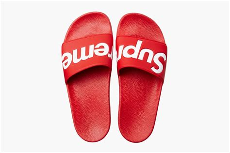 supreme shoes free shipping original supreme slippers supreme shoes box