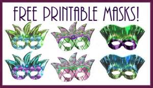 Free Printable Mardi Gras Mask Templates by Host A Mardi Gras Recipes Free Printable Masks