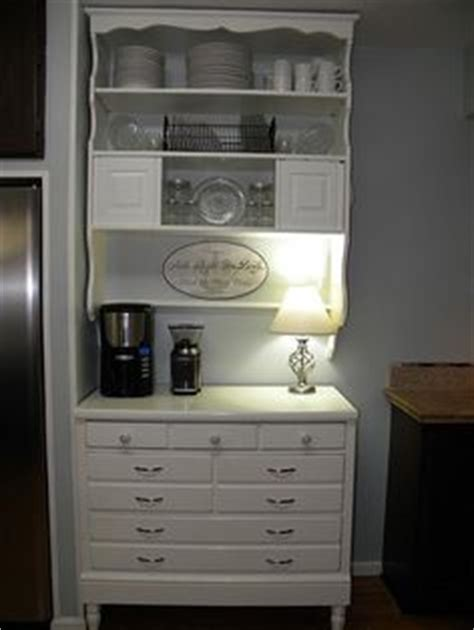 Bedroom Coffee Station by Bedroom Dresser Remake Needed More Space In The Kitchen