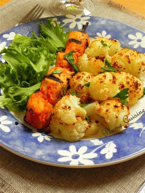 cuisine choux fleur chou fleur au four une plume dans la cuisine