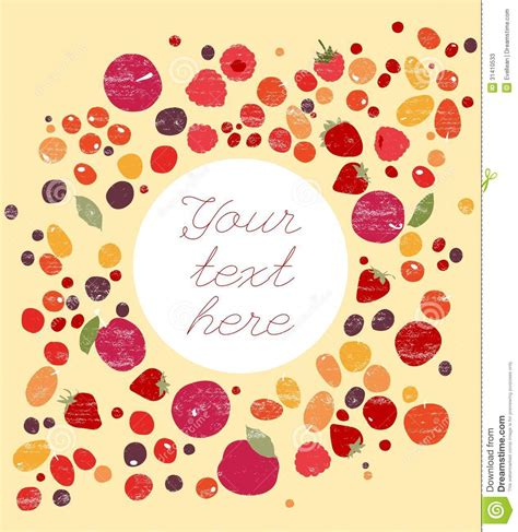 berry design berry design with copy space stock photos image 31410533
