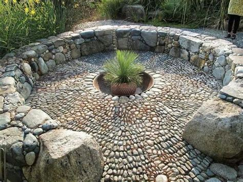 how to light a fire pit 192 best pebble mosaic ideas images on pinterest pebble