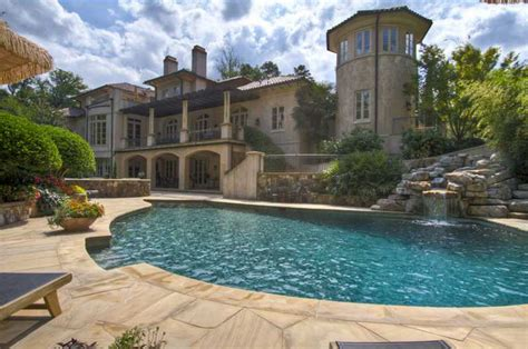 House Plans With Big Windows 11 9 million mediterranean riverfront mansion in atlanta
