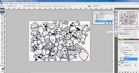 sketchbook quartett cara membuat doodle name contoh bikin doodle nama