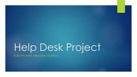 memorial hermann it help desk help desk project