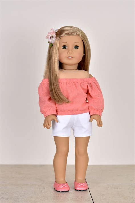 18 inch doll clothes country top 18 inch doll clothes