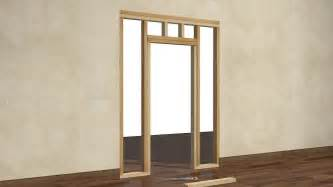 Framing Interior Doors How To Frame A Door Opening 13 Steps With Pictures Wikihow