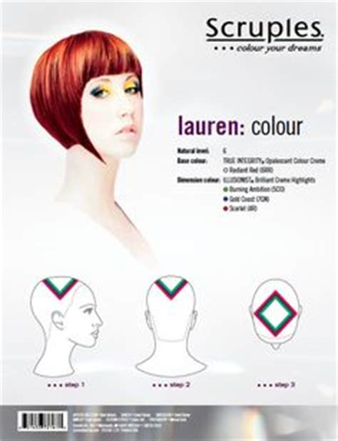 hair highlighting diagram hair sectioning pattern diagram for multi colored streaks