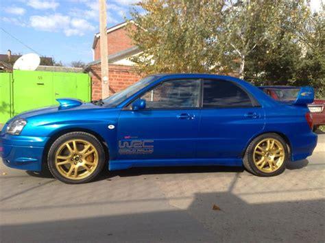 Subaru Wrx Sti 2002 by 2002 Subaru Impreza Wrx Sti Photos