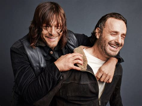 andrew lincoln tv shows the walking dead photos andrew lincoln and norman reedus