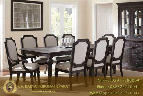 Meja Makan Jati 8 Kursi meja makan jati 8 kursi model bubut