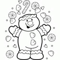 christmas gingerbread coloring pages new calendar