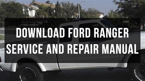 how to fix cars 2007 ford ranger security system download ford ranger service and repair manual free pdf youtube