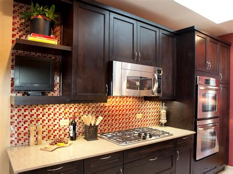 restaining kitchen cabinets darker photos hgtv