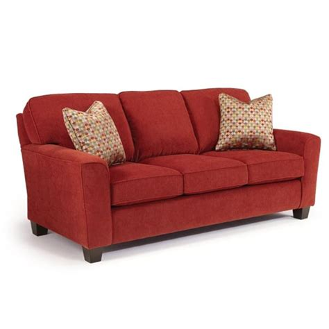 annabel sofa collection w flared arm open leg elm