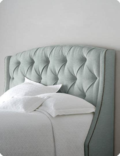tufted headboard with wings tufted fabric headboard with winged sides furniture