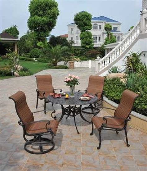 St Augustine By Hanamint Luxury Cast Aluminum Patio Hanamint St Augustine Patio Furniture