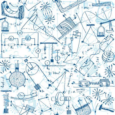 pattern design school school elements vector pattern set 04 vector pattern