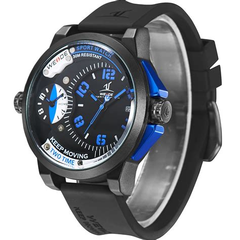 Weide Universe Quartz Silicone 30m Water Resistan Murah weide universe series dual time zone 30m water resistance