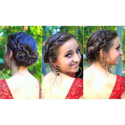 rope twist updo homecoming hairstyles cute girls 17 best ideas about rope twist braids on pinterest long