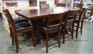 Costco Dining Table Set Costco Hillsdale Furniture 9 Pc Counter Height Dining Set 1 149 99 Frugal Hotspot