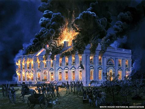 the burning of the white house the odd objects looted from washington dc in 1814 bbc news
