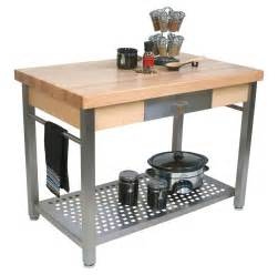 metal island kitchen boos butcher block tables kitchen islands